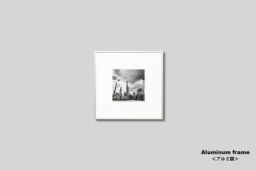ニューヨーク,写真,インテリア,モノクロ,風景,マンハッタン,ビル群,セントラルパーク,インテリアフォト,アート,額入り,壁掛け,正方形,オリジナルプリント,アートフレーム,フォトフレーム,おしゃれ,モダン,プレゼント,額装,壁飾り,新築祝い