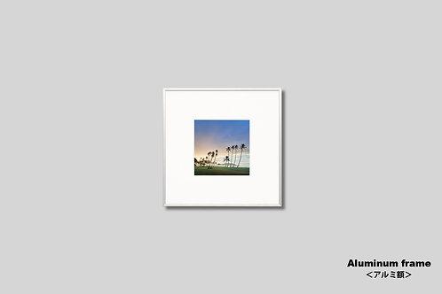 ハワイ,写真,アートポスター,南国,リゾート,トロピカル,アートフレーム,インテリア,正方,風景,自然,海,ヤシの木,ビーチ,インテリアフォト,アート,額入り,額装,オリジナルプリント,おしゃれ,モダン,壁掛け,壁飾り,装飾,ウォールアート,新築祝い