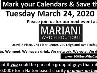 Save the Date for Our Q1/20 Event