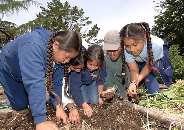 Garden becomes organic classroom for third-graders