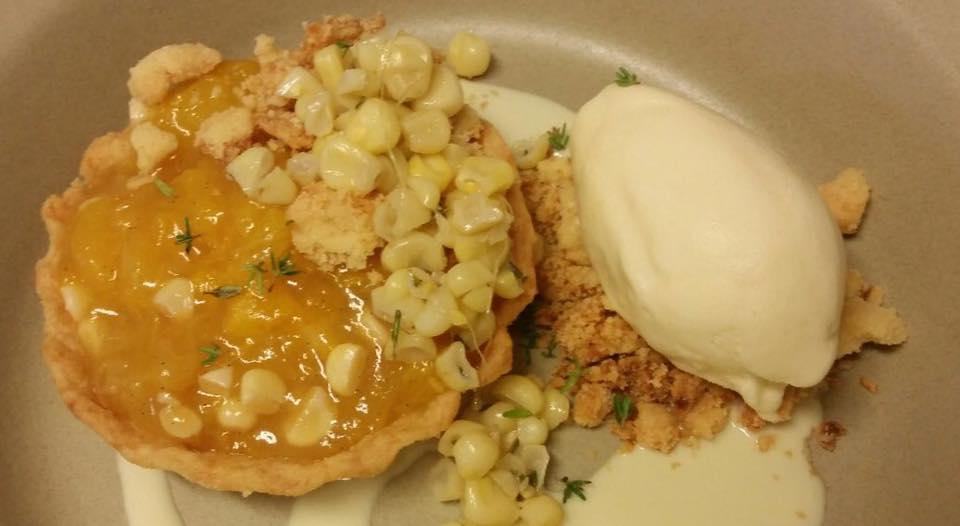 Peach and Corn Pie