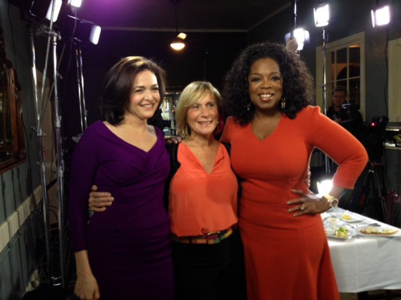 Oprah Winfrey, Sheryl Sandberg Biscuit Summit at Flea St. Cafe