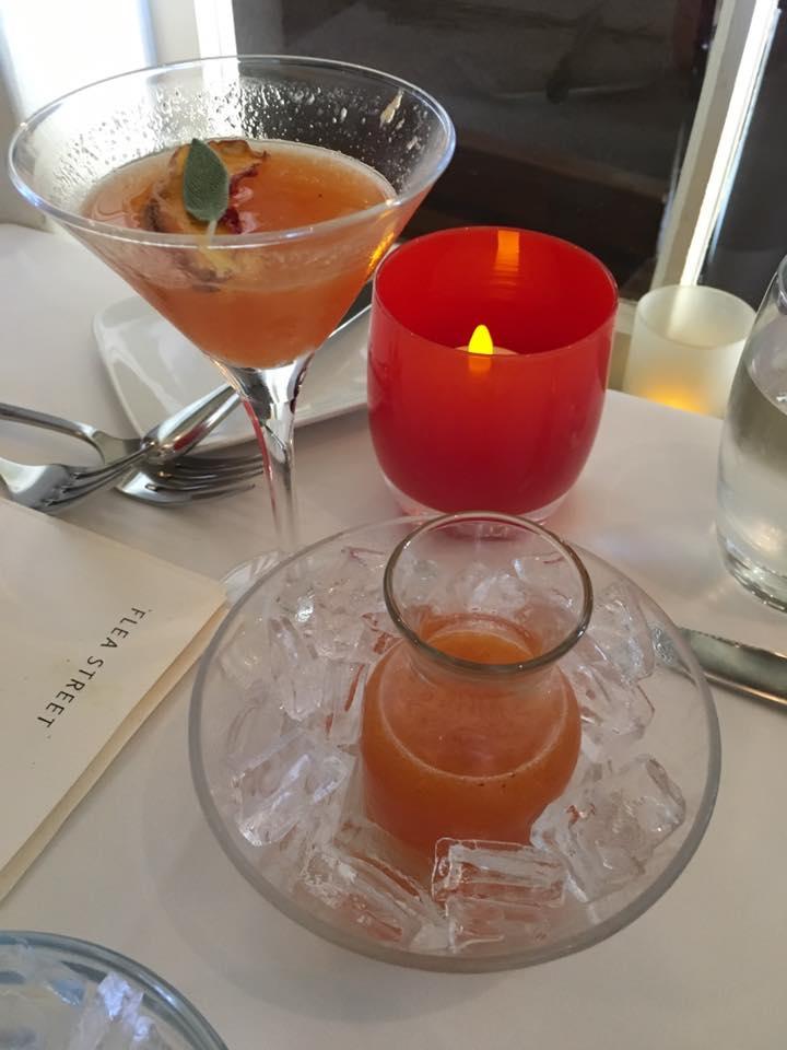 Peaches and Herb Martini