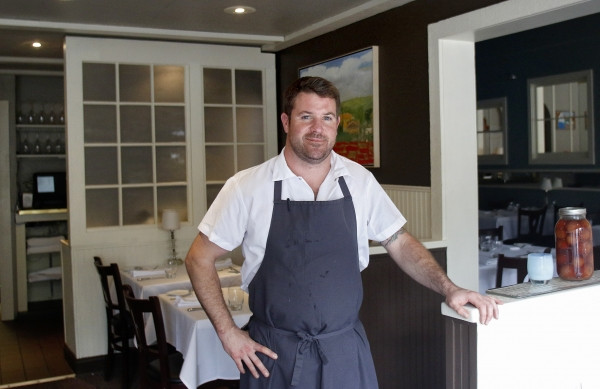 Flea St.'s new executive chef, Charlie Parker, grew up eating at the Menlo Park restaurant. He went on to cook in esteemed restaurants like Manresa in Los Gatos, the Village Pub in Woodside, the now-closed Ubuntu in Napa and famed Noma in Copenhagen.
