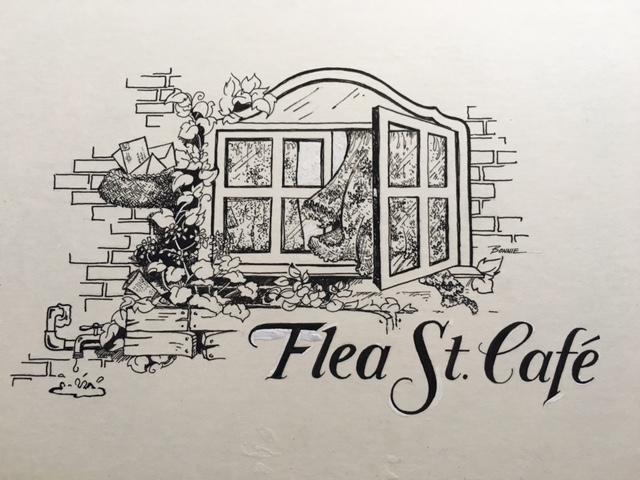 Flea St Cafe 1980 logo