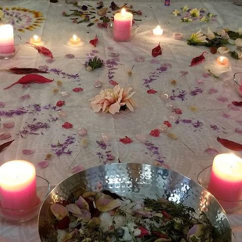 Sacred Feminine Ceremony on November 2nd