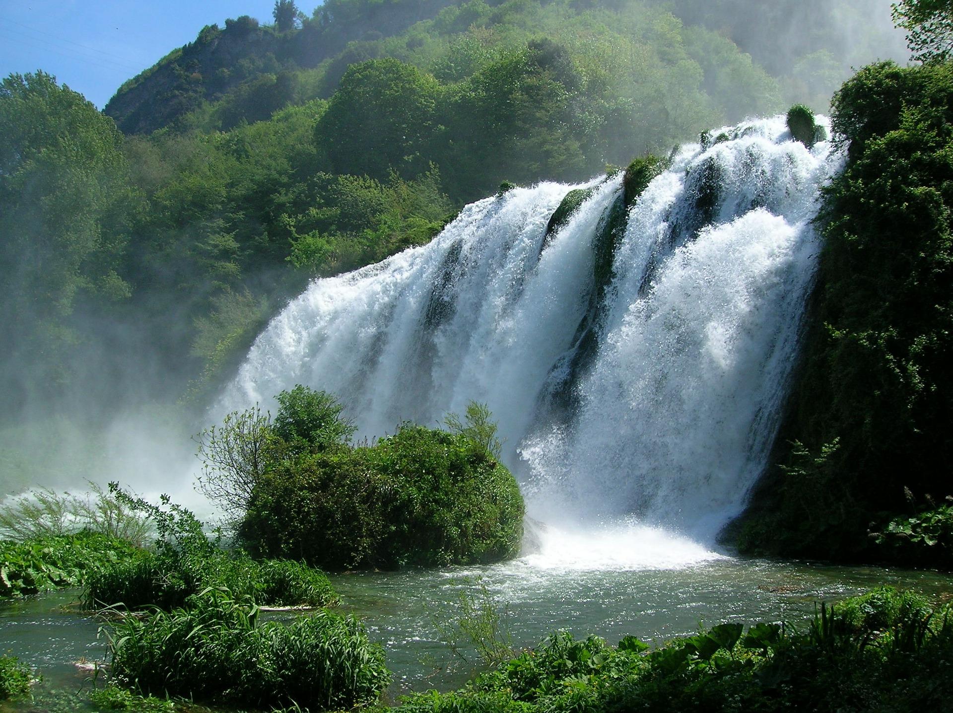 Marmore Wasserfall
