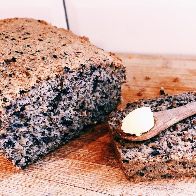 Luxuriously Light Grain-free Hazelnut bread