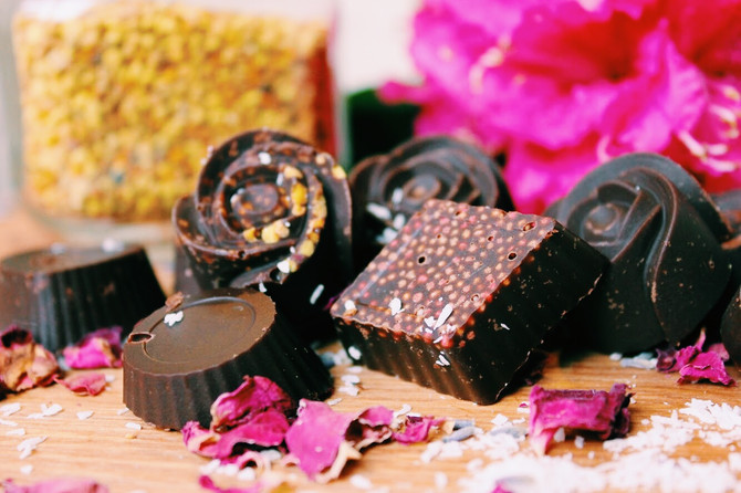 Honest Chocolate: 4 ingredients