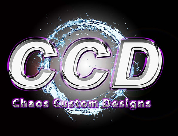 CCD chrome final logo with water circle.