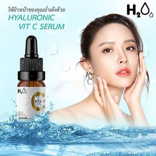 H2Oo- Hyaluronic Vit C Serum #เซรั่มน้ำชา