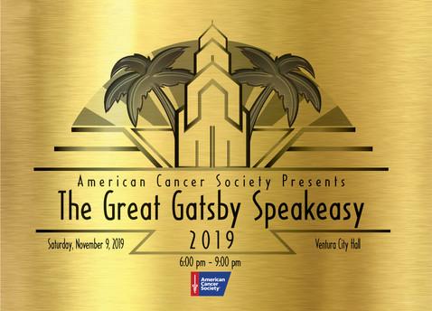 American Cancer Society logo I designed for their Gala last year(2019)