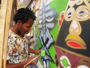 Painting Community: Street Art & Participatory Social Change workshop
