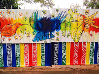 Peace and Equality Garden Gates
