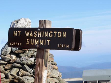 Mount Washington, the Highest Peak in Northeastern United States