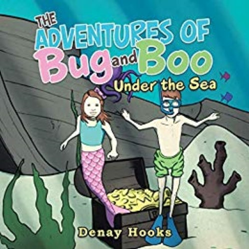 Signed Hardback: The Adventures of Bug and Boo- Under the Sea