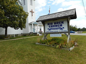Church sign and painted doors.jpg