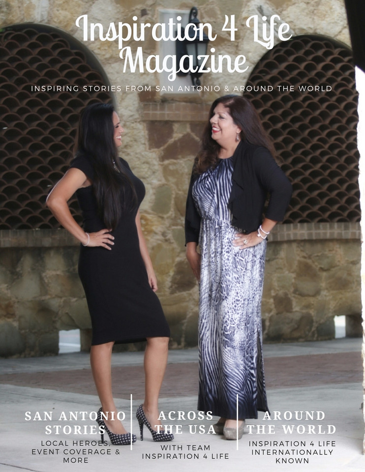 Rita & Stephanie Inspiration 4 Life Magazine