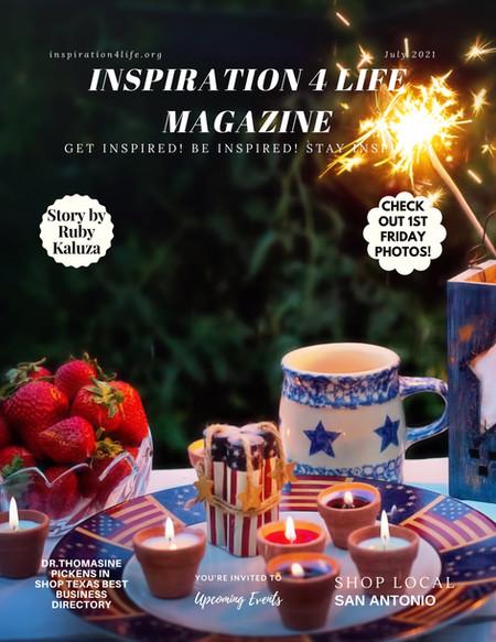 July 2021 Inspiration 4 Life Magazine