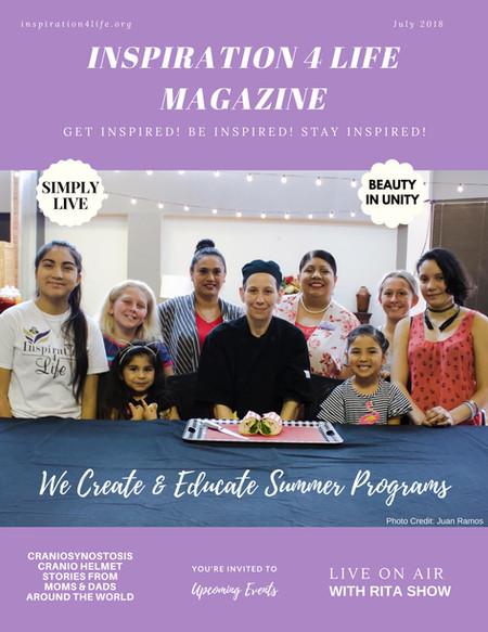 July 2018 Inspiration 4 Life Magazine