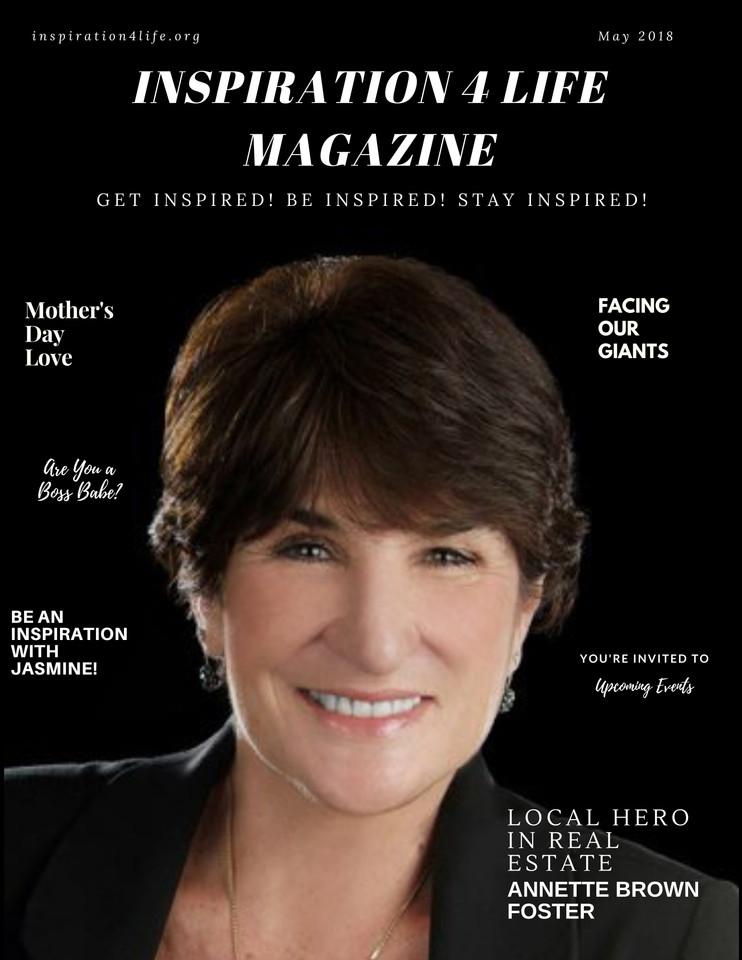 May 2018 Inspiration 4 Life Magazine