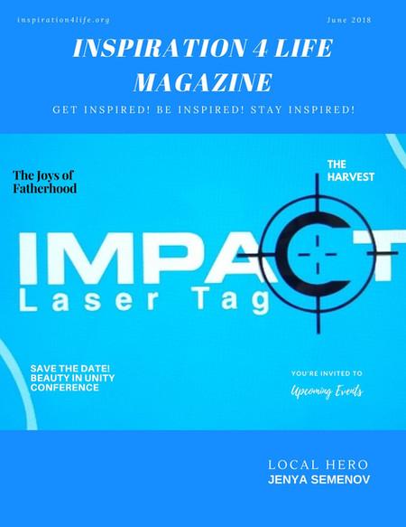 June 2018 Inspiration 4 Life Magazine