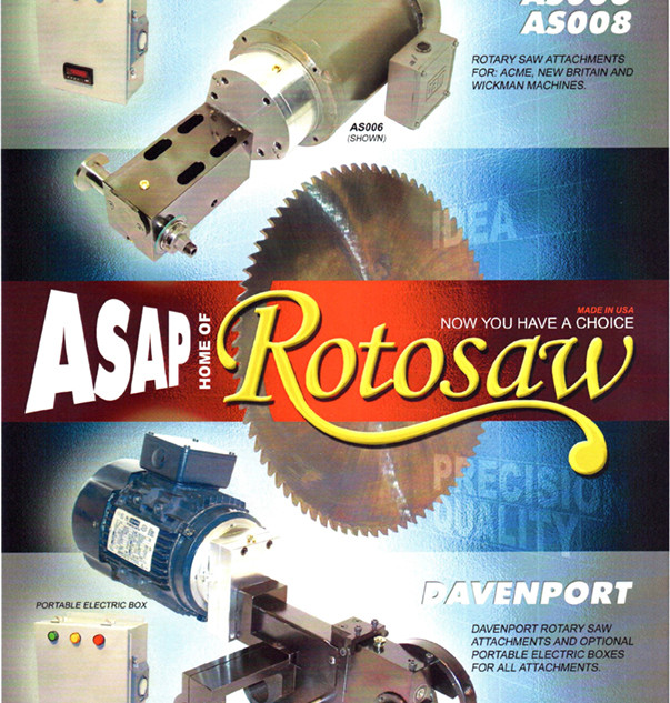 Rotosaw Flyer Front