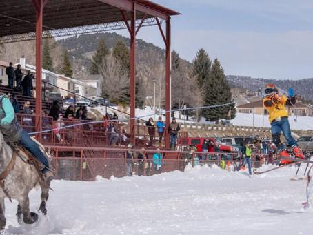 Meeker Skijoring in Meeker, Colorado