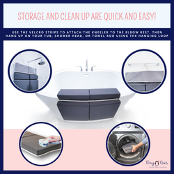 EASY TO STORE & CLEAN