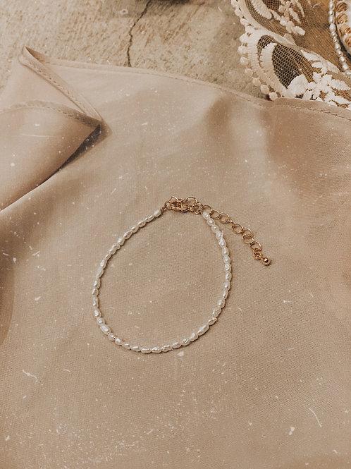 [現貨賣光不補] 天然細珍珠手鏈