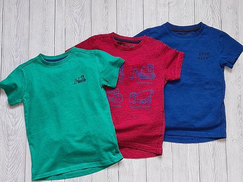 Next Boys 3 Pack T- shirts 2-3 Years