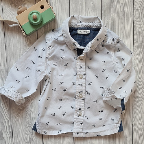 Next Baby Boy Dinosaur Shirt 6-9 months