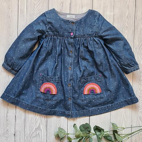 Next Baby Girl Dress 6-9 Months