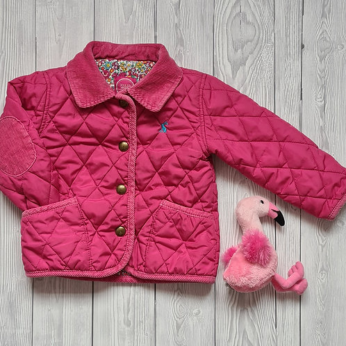 Joules Girls Jacket 9-12 months