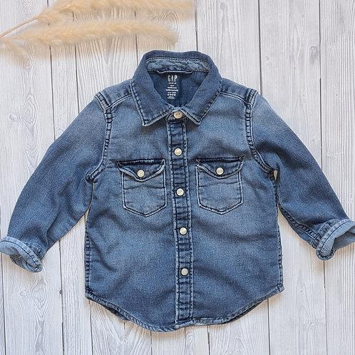 Boys Gap Denim Shirt 18-24 Months