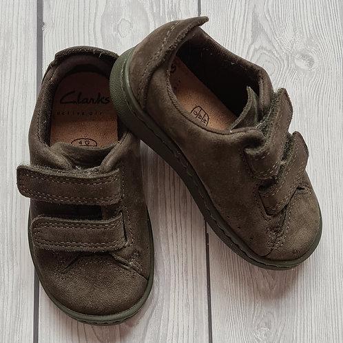 Clarks Boys Shoes Size 4G