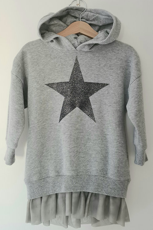 Next Girls Sweatshirt Dress 18-24 Months