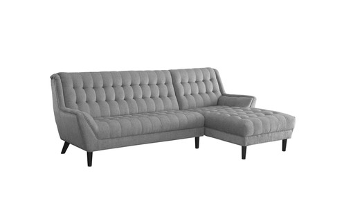 Prime Natalia Sofa Sectional Grey Linen Gmtry Best Dining Table And Chair Ideas Images Gmtryco
