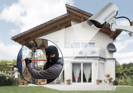 CCTV Camera Intruder Break In Security