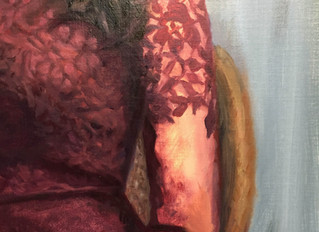 Painting a Lace Dress