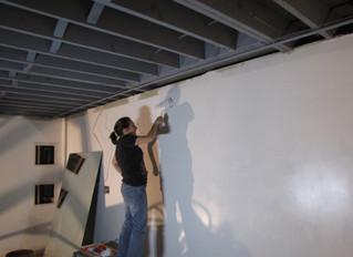 Studio Renovation: Paint Color for Artist Studio