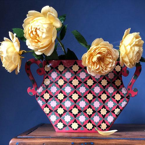 """Scarlet """"Flat"""" Vase"""