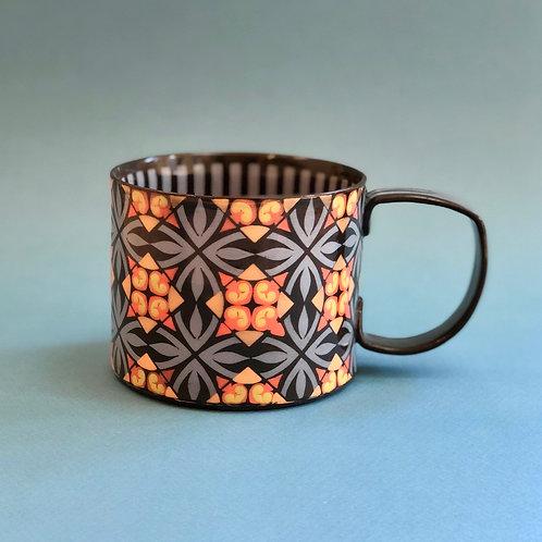 Black and Blue 12 oz. Mug