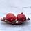 "Thumbnail: Red Ruffle 11"" Serving Bowl"