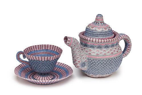 Paper Tea Pot and Cup