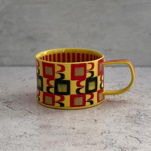 Canary Yellow 4 oz. Espresso Cup