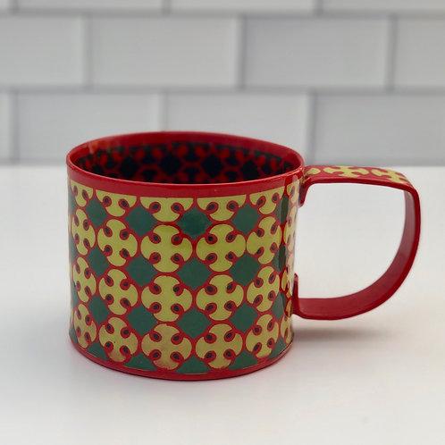 12 oz. Red and Yellow Mug