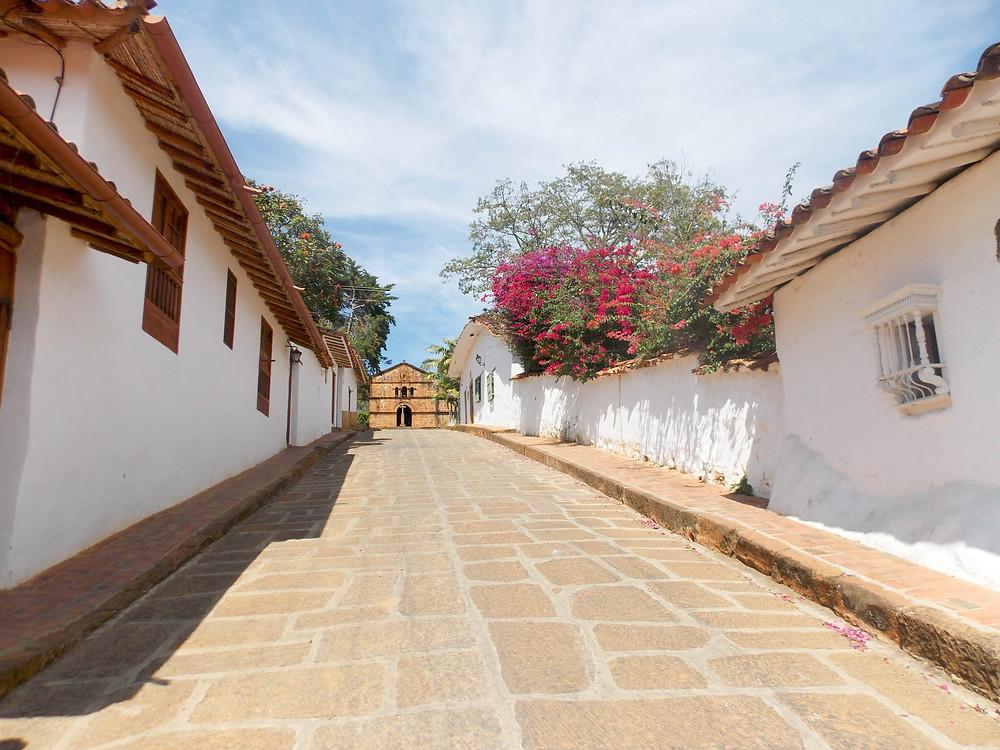 street church barichara colombia