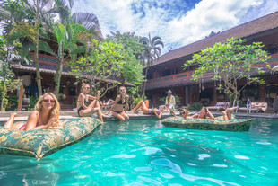 Bali's most stylish hostels for backpackers on a budget