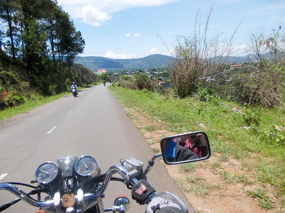 motorbike laos